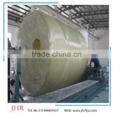 FRP tank winding machine integral septic tank manufacture the FRP horizontal winding molded vessels