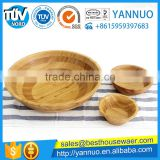 Wholesale China Bamboo Fiber Dessert Soup Bowl Custom LOGO