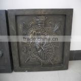 Black GRC Cement Rectangular 75*62CM Reliefs