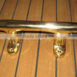 Marine Brass Nautical Cleat Handle With Polish Finish