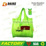 Custom Eco Reusable Cheap ball foldable shopping bag DK-DZ014
