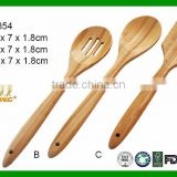 Wholesale Wood Cooking Tool 3 Piece Bamboo Spatula Kitchen Utensil