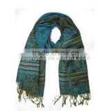 Anti-Wrinkle Comfortable Styliest With High Quality Jacquard Lady Woven Scarf