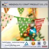 Custom made festival indoor and outdoor decoration bunting flags with cheap price and top quality