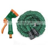 Hose Expandable Flexible WATER GARDEN Piper with spray Gun plastic Connector Stretched Water hose