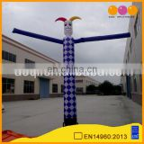 top quality cheap inflatable air dancer slim clown inflatable toy for promotion