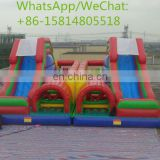 Outdoor Amusement Park Fun Land Inflatable Fun City CE Commercial Sale In Stock