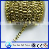 Fashion new electroplating golden horse eye attachment beads bead Christmas tree decoration