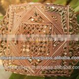 Copper jewelry armlets manufacturer, copper jewellery armlet exporter