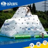Funny Floating Inflatable Water Iceberg/ inflatable pyramid/ inglatable water climbing for adults