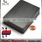 "Ferrite Magnets Block 4""X3""X1"" Hard Ceramic Magnet Block"