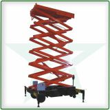 Hydraulic lift machine Car Hoist Lift Movable Scissor Lift Towable