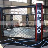 with 0.4 meter platform  mma octagon cage