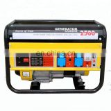 silent 8500 cam professional astra korea spare parts 5.5hp 15hp 8500W gasoline power soundproof portable petrol generator