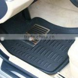 PVC Leather 3D car mat /Fashion Embroidered Non-skid 3D Car Mat /Special car mat,pvc car mat/Special car mat