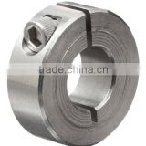 "1C-031-S T303 Stainless Steel One-Piece Clamping Collar, 5/16"" Bore Size, 11/16"" OD, With 4-40 x 3/8 Set Screw"