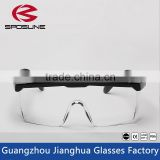 New 2016 black frame trendy glasses clear HD vision safety work glasses painting printing anti-splash goggles against radiation