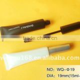 19mm 10-20ml Mascara PE Cosmetic Packaging mascara soft tube guangzhou