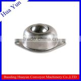 25.4mm diameter carbon steel zinc plated ball transfer unit for conveyor line transfer table