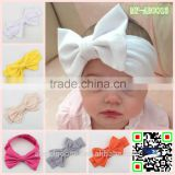 hot selling top baby headband wholesale Cotton cloth big hair bow hair accessories korea large bow headband MY-AB0013