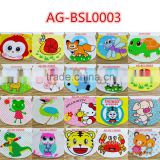 cute ecological animal style baby body bibs AG-BSL0003