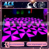 Acrylic led dance floor weight led dance floor for disco