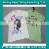 Hot sale Customer Silk screen printing T-shirt for men/Men printing t shirt/t shirt printing images