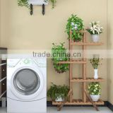 custom Flower display Shelf, Folding Plant Stand