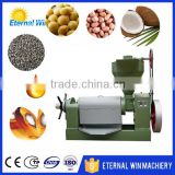 Electric automatic copra coconut oil expeller