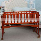 High Quality Baby Beds Cots baby rocking cradle with factory price