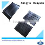 high performance solid (EPDM,silicone,CR,NR,NBR and recycled rubber) profile rubber shock absorber pad