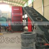 Deliver fast mobile tire shredder rubber tyre cutting machine