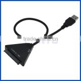 "USB3.1 type A to SATA III SATA 3.0 adapter conveter cable for 2.5"" 3.5"" HDD/SSD"