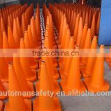 75cm Industrial Rubber Safety Control Road Cone Traffic Sign