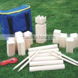 kubb, Viking Chess,,wooden garden kubb game set 3023
