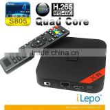 Hd Multimedia Network Player Box, Mini Usb Tv Box , Remote Controller Android Tv Box