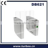 Vertical Barcode Identification Sliding Gate For Building Lobby Access Control System