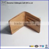 genuine tanned leather card holder pocket card wallet wholesale manufacture