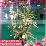 Real looking indoor decoration evergreen 70 cm artificial bamboo plants with plastic pot