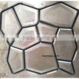 Plastic Concrete Pavement Mould New pathway maker mould DIY pathway stone mold