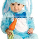 Blue Baby Rabbit Child Fancy Dress Kids Easter Bunny Animal Costume 0-18 Months BB037