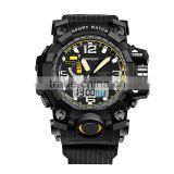 Super! 2016 Fashion G Casual Luury Brand Men Military Sport Watches Led digital Analog quartz watch shock proof clock men