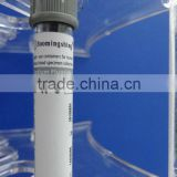 PET/Glass medical disposable vacuum blood test collection tube (glucose tube grey) with CE&ISO