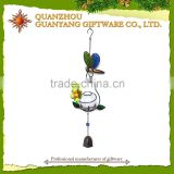 Wholesale Glow In The Dark Metal Wind Chime Rings With Glass Ball Display