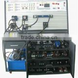 Hydraulic trainer,pneumatic trainer,XK-QDYY1A PLC control double side hydraulic and pneumatic transmission equipment