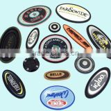 Plastic embroidery patch made in China