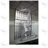 2014 three joint industrial ceiling mounted test fume exhaust hood extractor (HL-PQZ007)