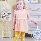 2015 new children's cotton dress baby girls princess skirt short spring and summer 3 year old girl dress