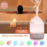 150ml Aromatherapy Essential Oil Diffuser Portable spa Ultrasonic Cool Mist Aroma Humidifier for Home Office Bedroom Room