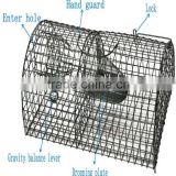 Easy catch mouse trap cage , stainless steel mouse trap cage TLD2002